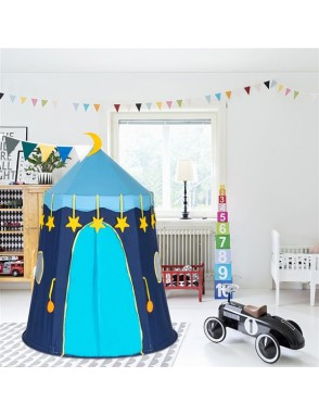 Kids Play Tent Children Play House In//Outdoor Cotton Yurt Tent with Small Flags